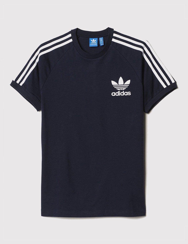 Adidas Originals Clfn Baseball T Shirt In Blue For Men Lyst