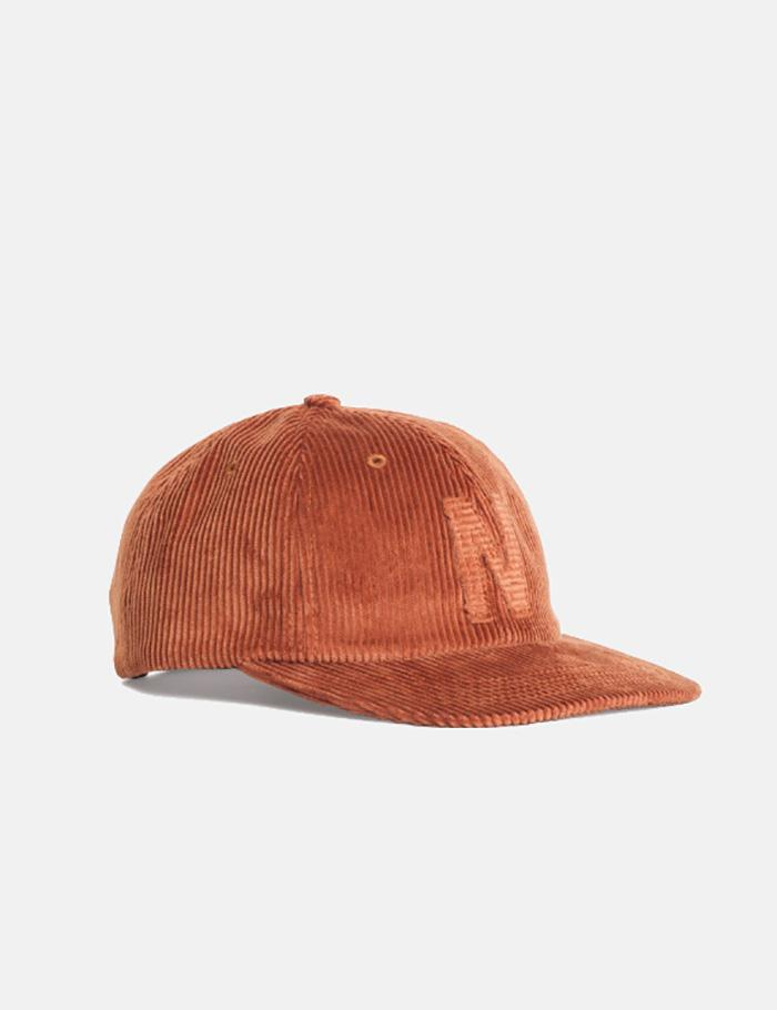 Lyst - Norse Projects 6-panel Cap (corduroy) in Brown for Men ab11b65424