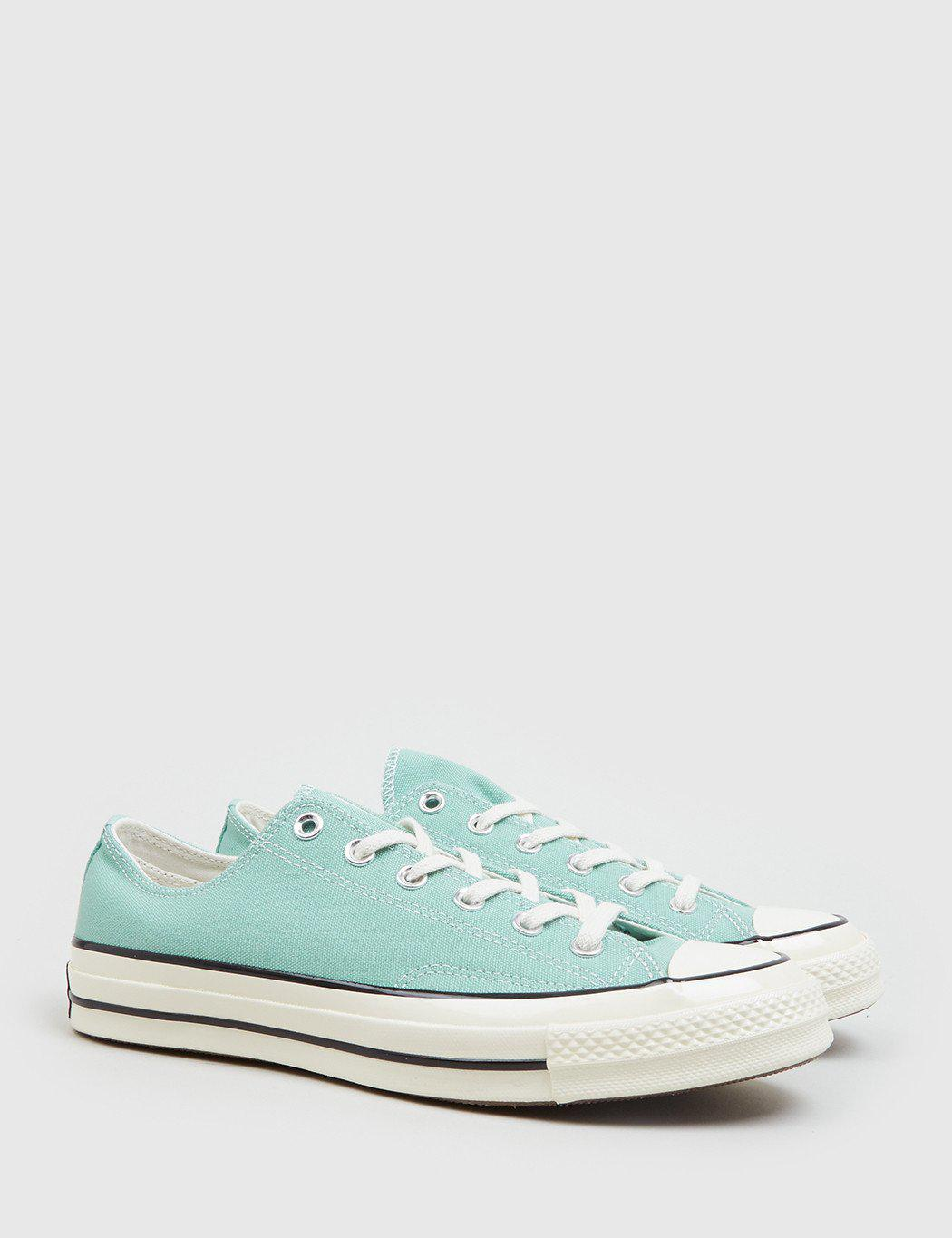Lyst - Converse 70 s Chuck Taylor Low (canvas) in Green for Men e33a353ab