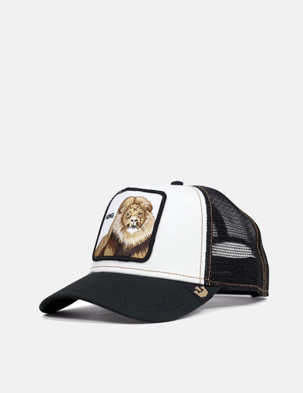 Lyst - Goorin Bros King Trucker Cap in Black for Men - Save 21% 0befe9ea3656