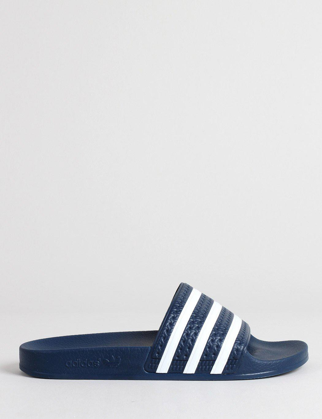 a7b7464beda6 adidas Originals Adidas Adilette Slides (288022) in Blue for Men ...