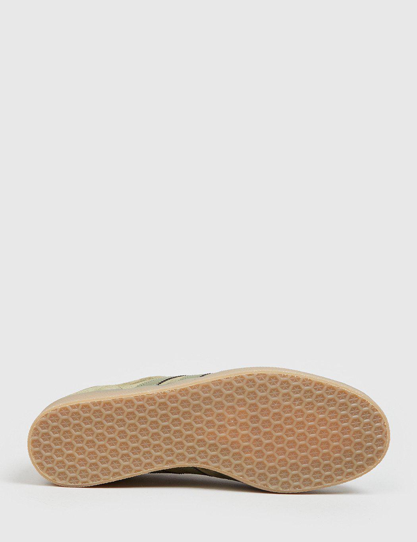 Adidas Gazelle Suede Shoes Olive Cargo Bb