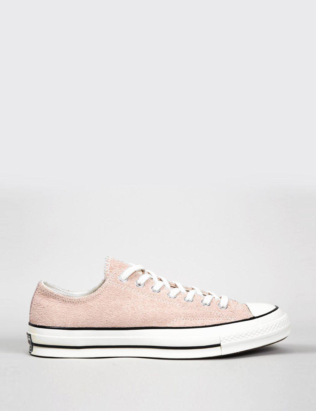 Lyst - Converse 70 s Chuck Taylor Low (canvas) in Pink for Men bf2a33947