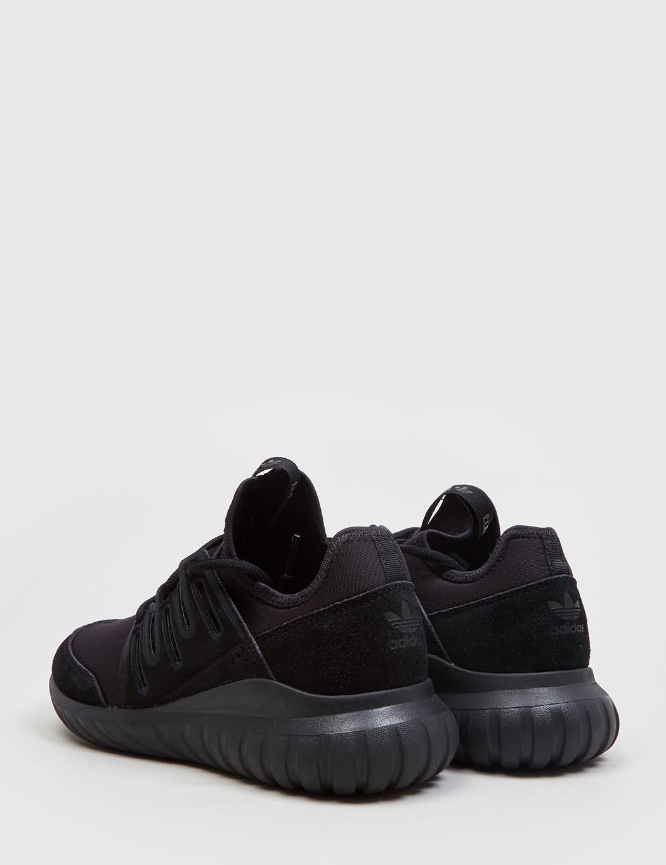 31b13b3f292 ... canada adidas originals adidas tubular radial trainers in black for men  lyst f46ed da9f8
