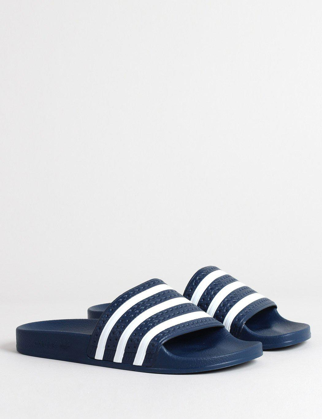 81b976439c29 adidas Originals Adidas Adilette Slides (288022) in Blue for Men - Save 33%  - Lyst