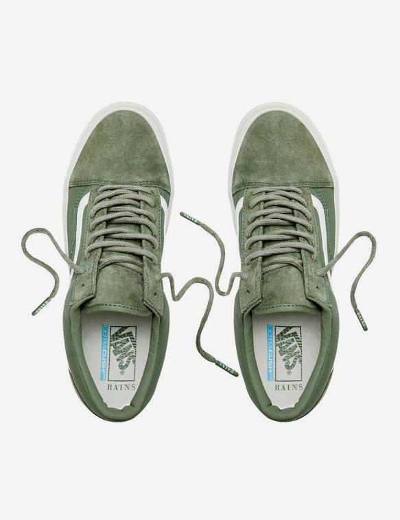 cd897ec753c70c Lyst - Vans X Rains Old Skool Light in Green for Men