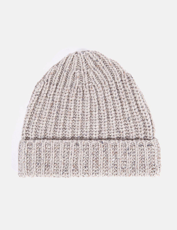 05d84569f36 Universal Works Lambswool Fleck Beanie Hat - Lyst