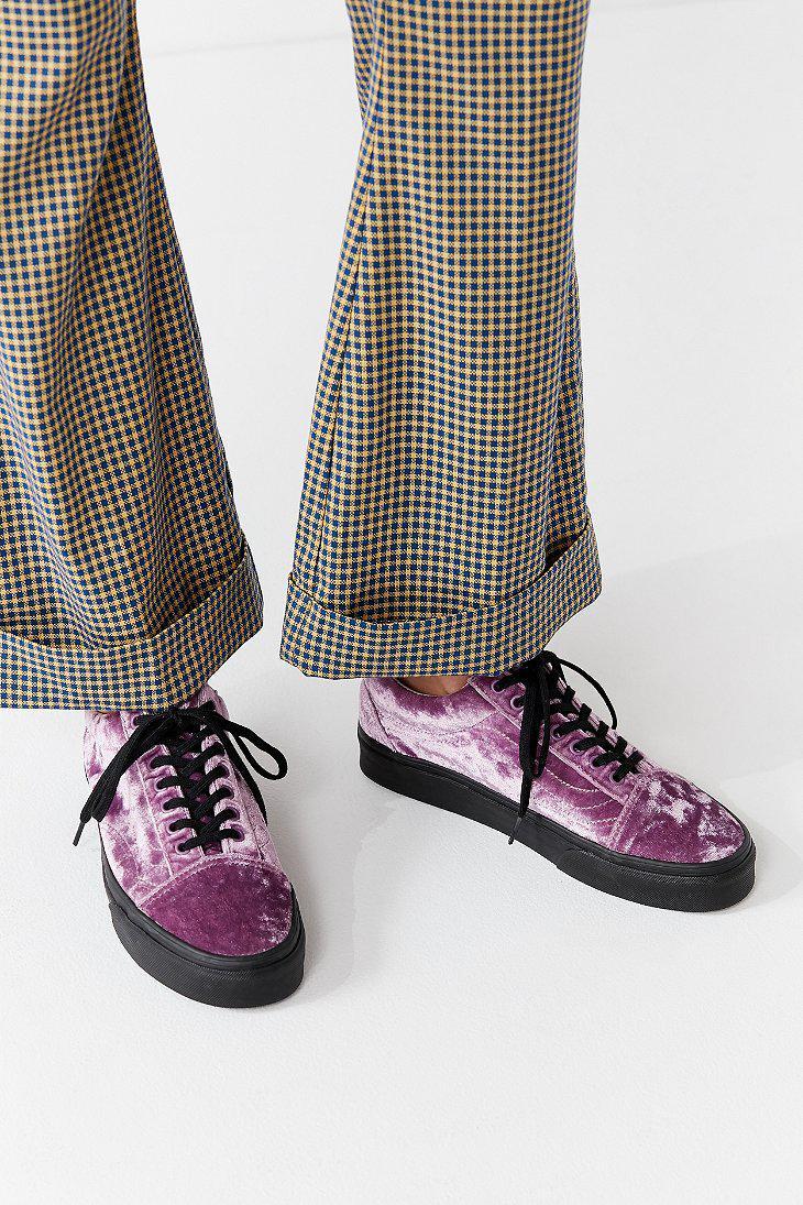 Old Crushed Velvet Lyst Vans Sneaker Skool q4PxqFAtw