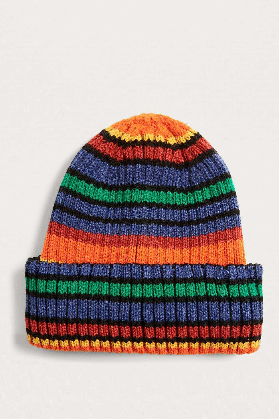 94fd3716d4d69 Urban Outfitters - Multicolor Uo Knit Beanie - Lyst. View fullscreen