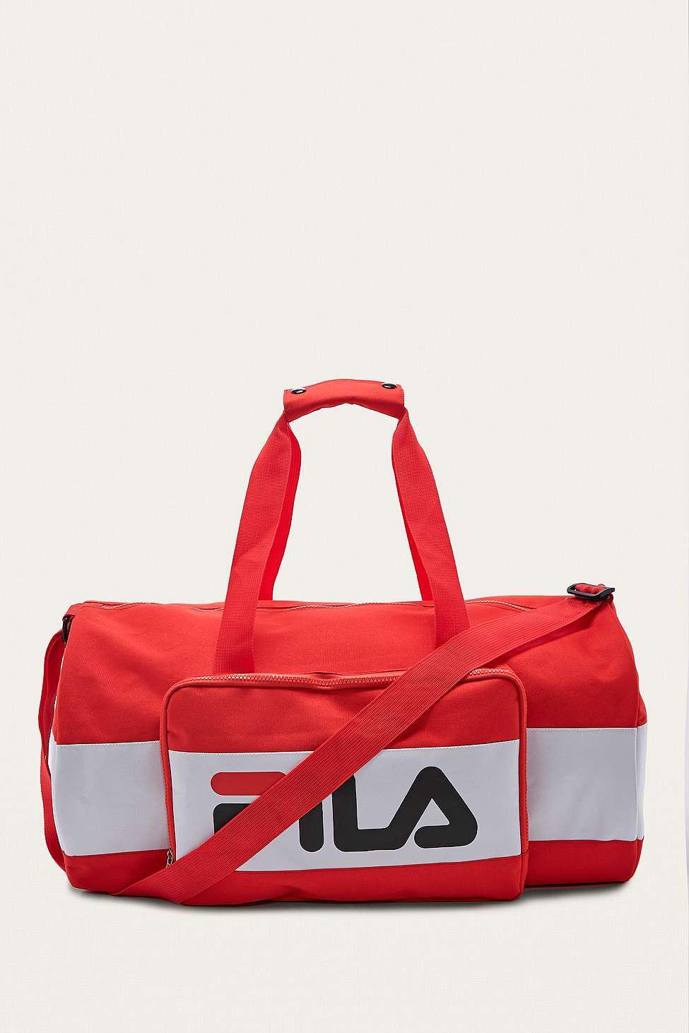 Fila Henry Red Holdall Bag - Mens All in Red for Men - Lyst 9fb0e66375e38