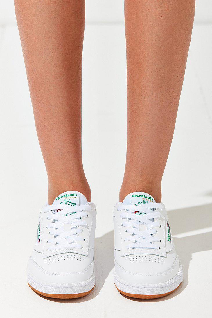 33bd7de38c6d Lyst - Reebok X Uo Club C Sneaker in White