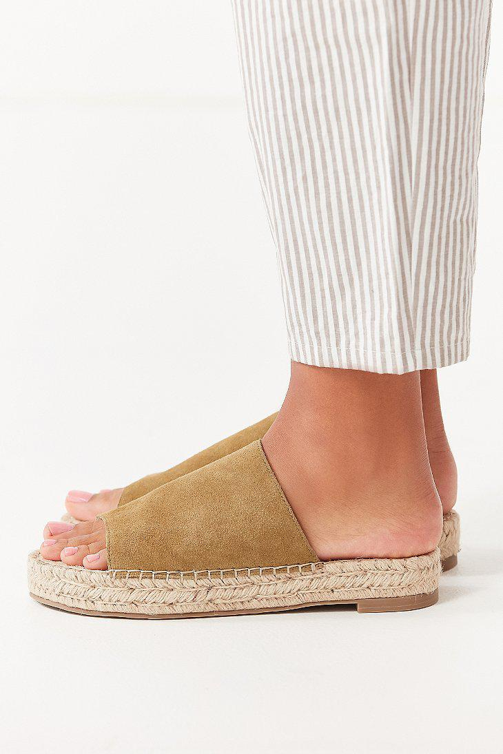 69c21baa83a4 Lyst - Urban Outfitters Mimi Espadrille Slide in Green
