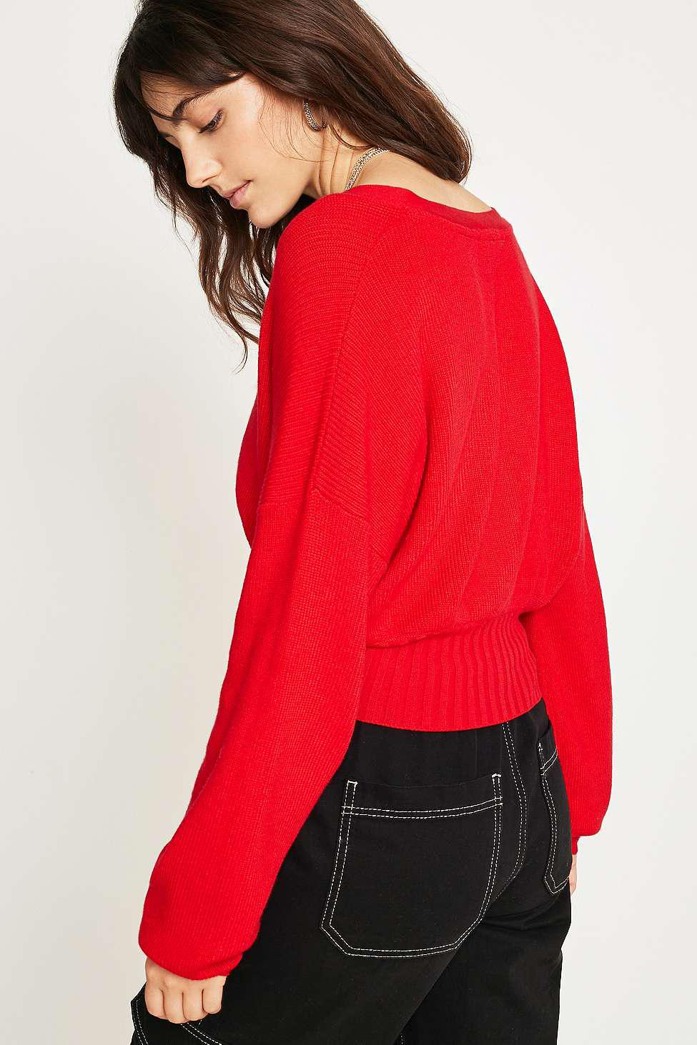 8530b1a55c Gallery. Previously sold at  Urban Outfitters · Women s Off The Shoulder  Sweaters ...
