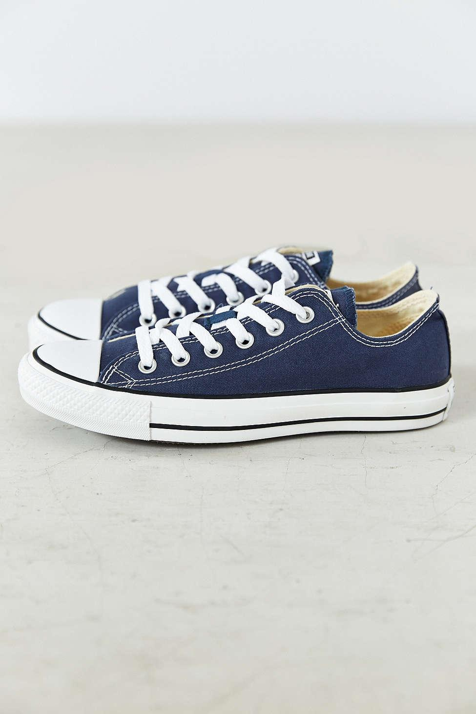 Converse Chuck Taylor All Star Low Top Sneaker in Blue for ...