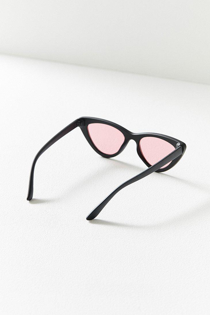 ac8cb6dc11cd8 Lyst - Urban Outfitters Cry Baby Cat-eye Sunglasses in Black