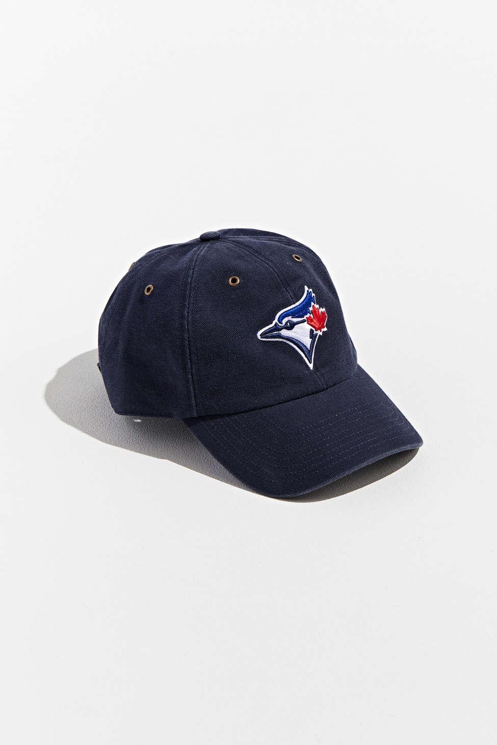 b76d8b27e7d45 47 Brand X Carhartt Toronto Blue Jays Dad Baseball Hat in Blue for ...