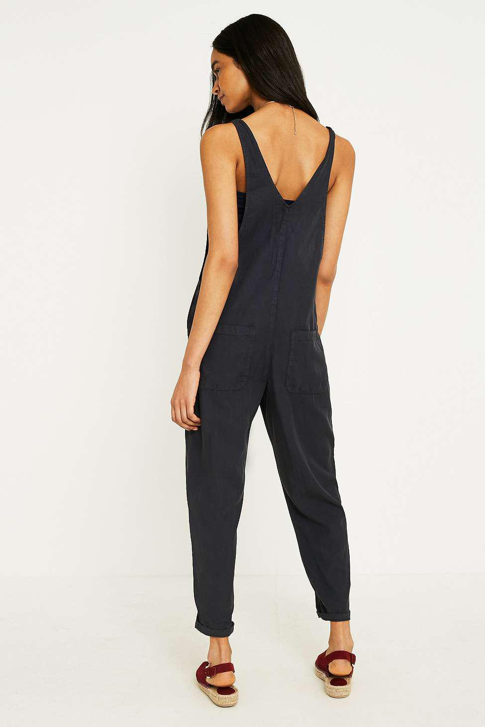 fb38767e87c7 Urban Outfitters Uo Shauny Jumpsuit in Gray - Lyst