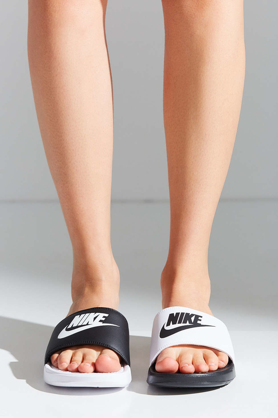 221b8e25d6683 Lyst - Nike Benassi Jdi Mismatch Slide in Black