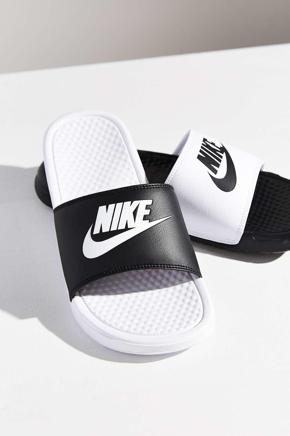 a83402de592 Lyst - Nike Benassi Jdi Mismatch Slide in Black