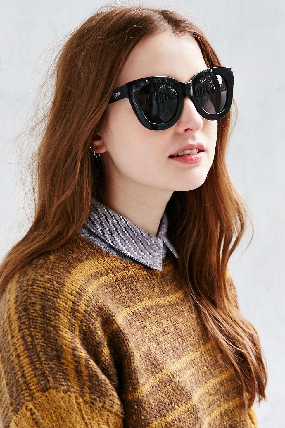 0ed0e02e05 Lyst - Quay Sugar + Spice Sunglasses in Black