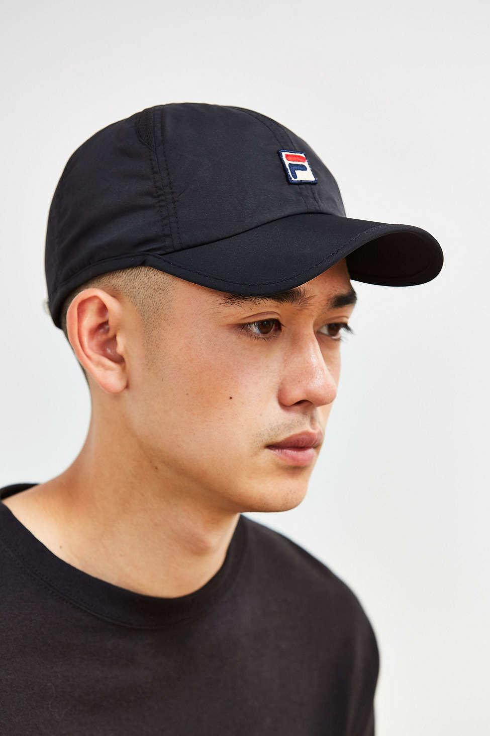 Lyst - Fila Runner Baseball Hat in Black for Men f790b706e1a