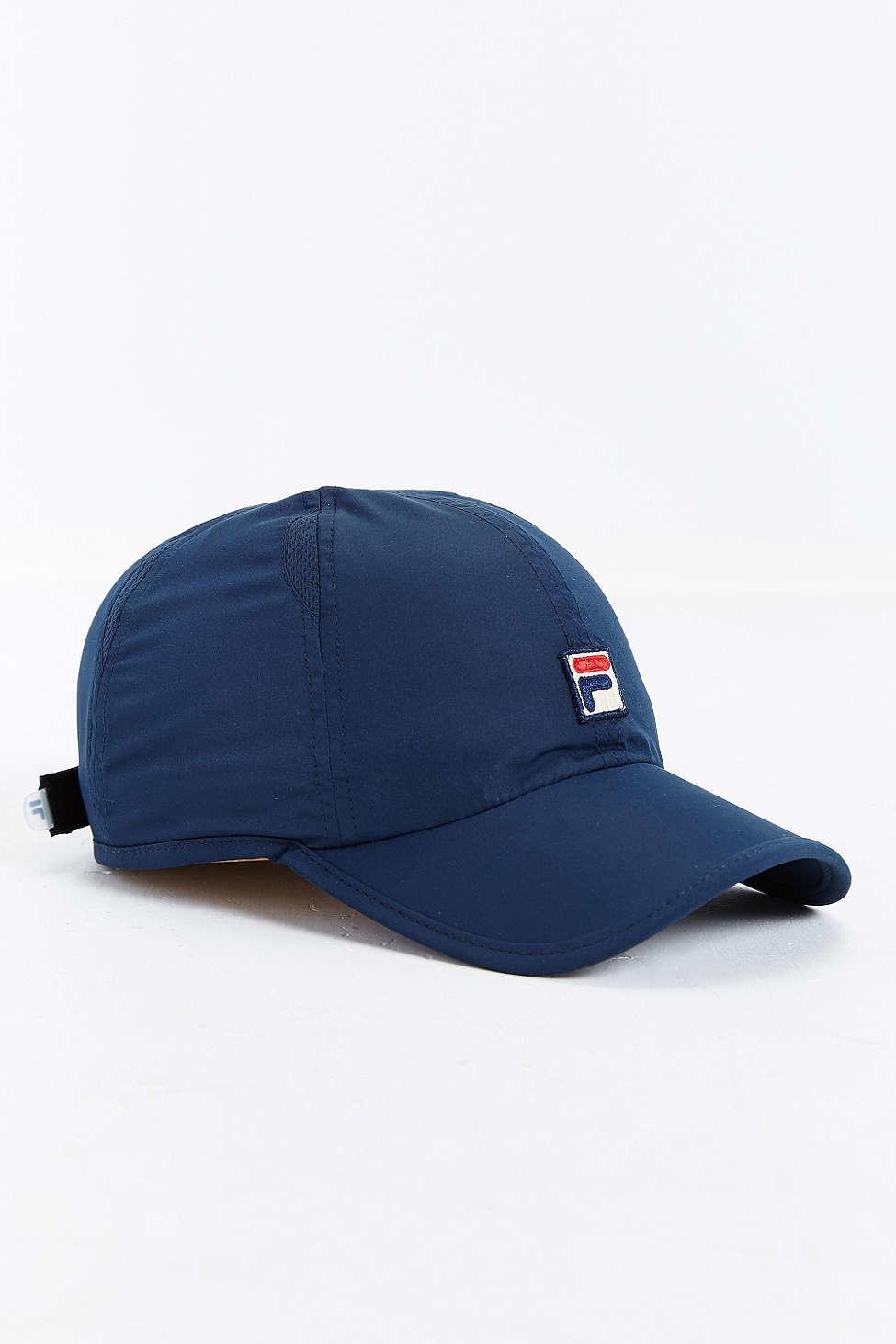 Lyst - Fila Runner Baseball Hat in Blue for Men e1250ae017d