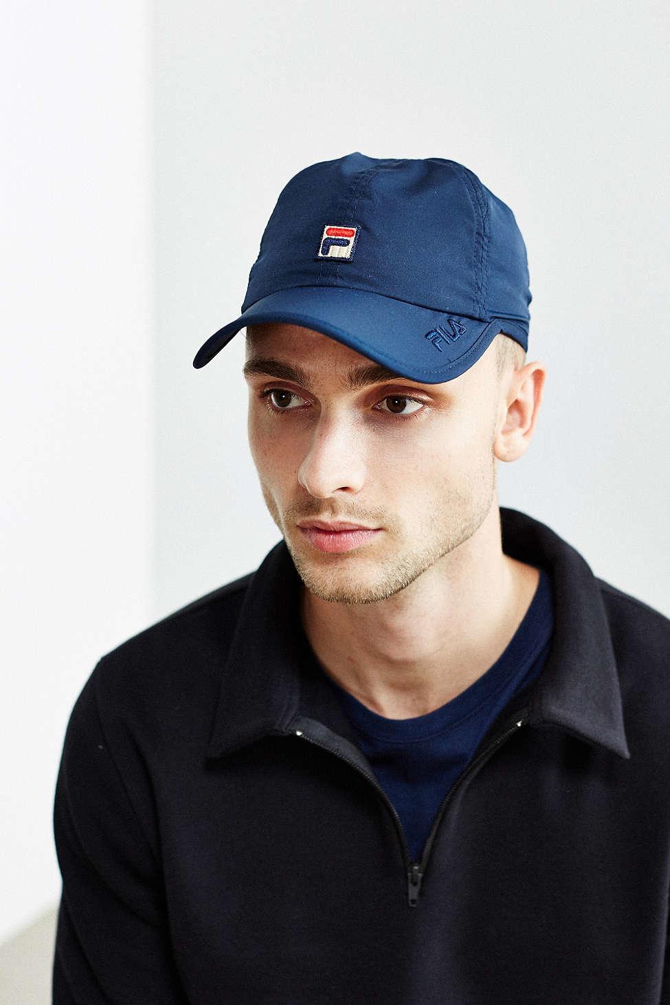 Lyst - Fila Runner Baseball Hat in Blue for Men ca46195f4524