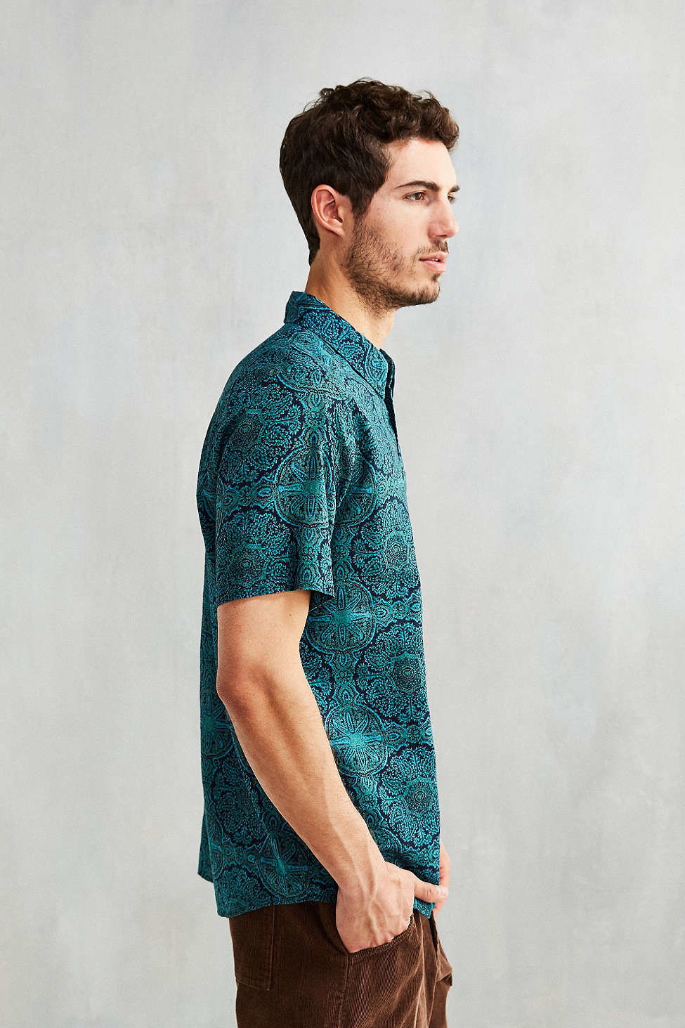 Patagonia Back Step Pullover Shirt in Blue for Men | Lyst