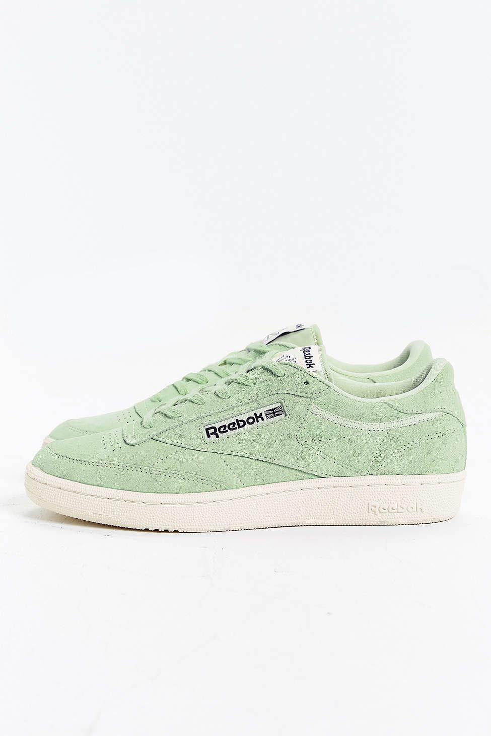 f2b685507be Lyst - Reebok Club C 85 Pastel Sneaker in Green for Men
