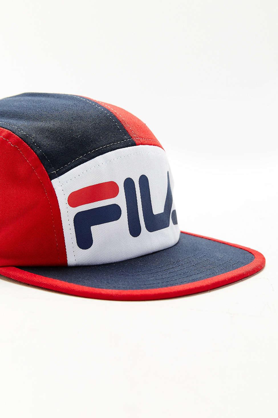 Lyst - Fila + Uo 5-panel Hat in Blue for Men 923e17442929