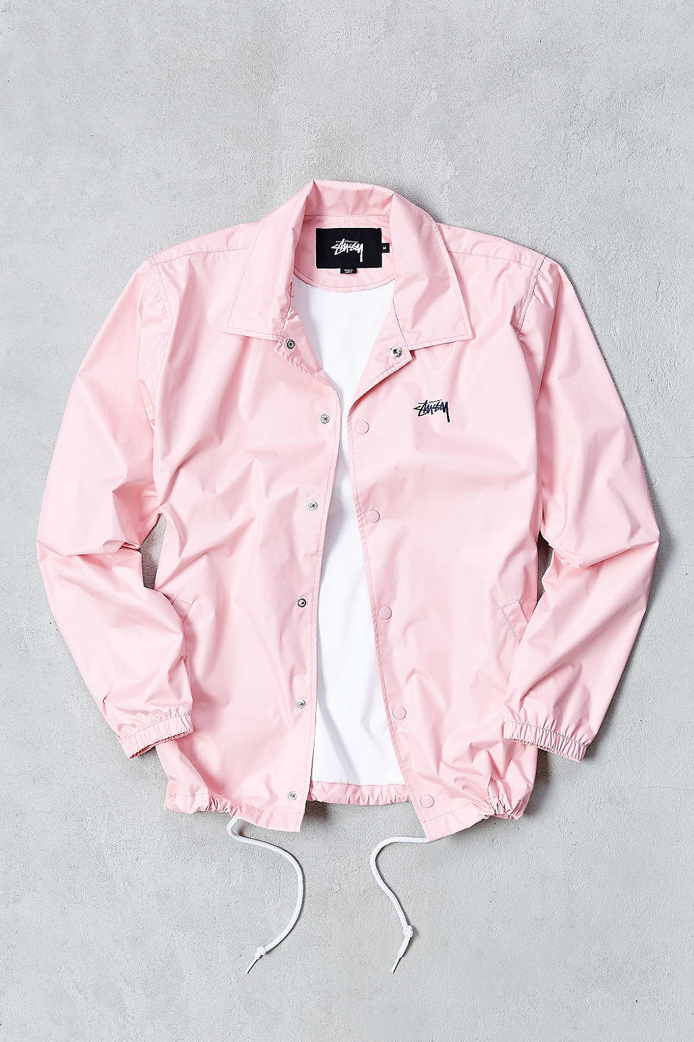 Lyst Stussy Funk Coaches Jacket In Pink For Men