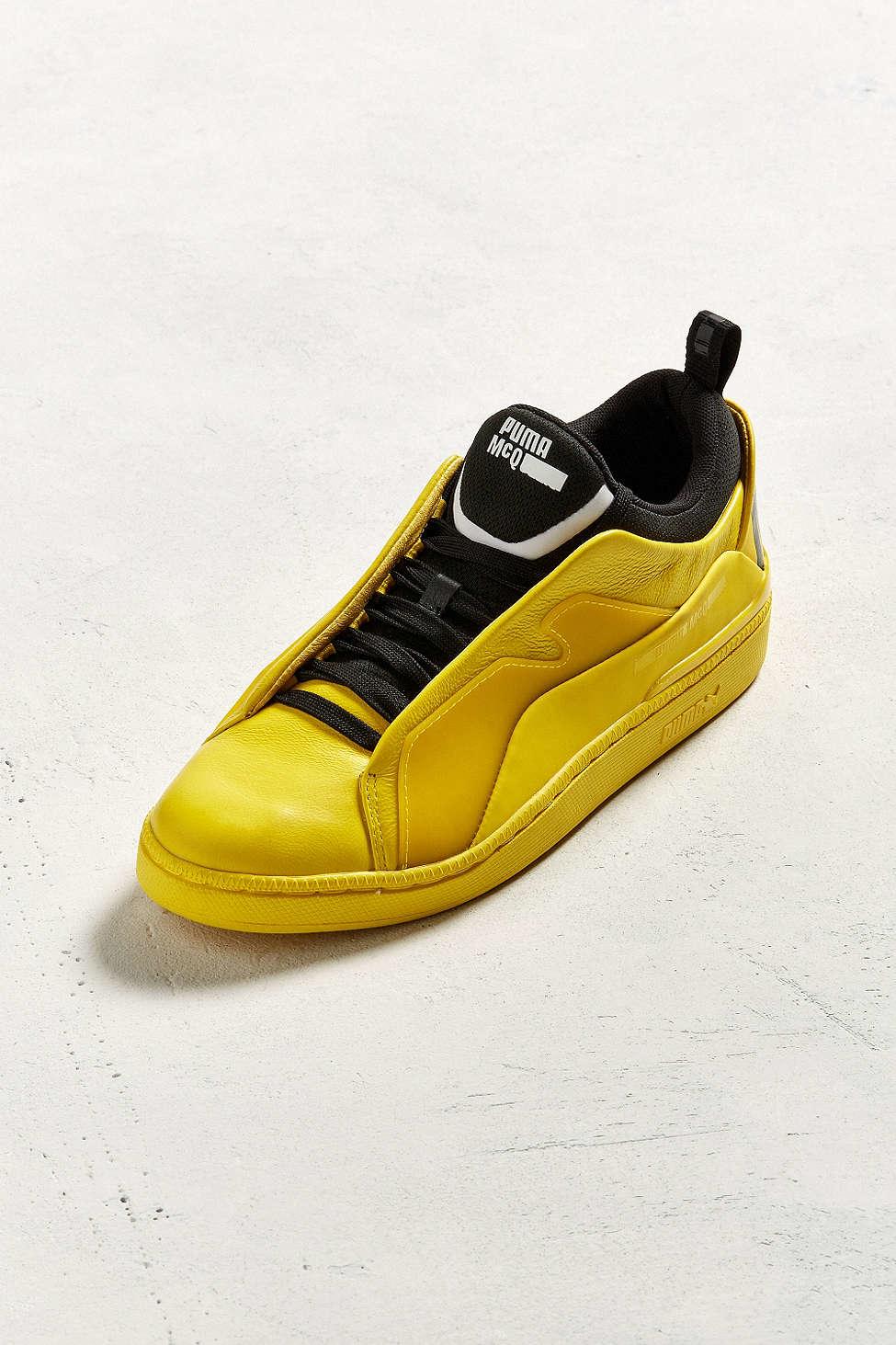 ce3659e1b42 Lyst - PUMA X Mcq By Mcqueen Brace Lo Sneaker in Yellow for Men