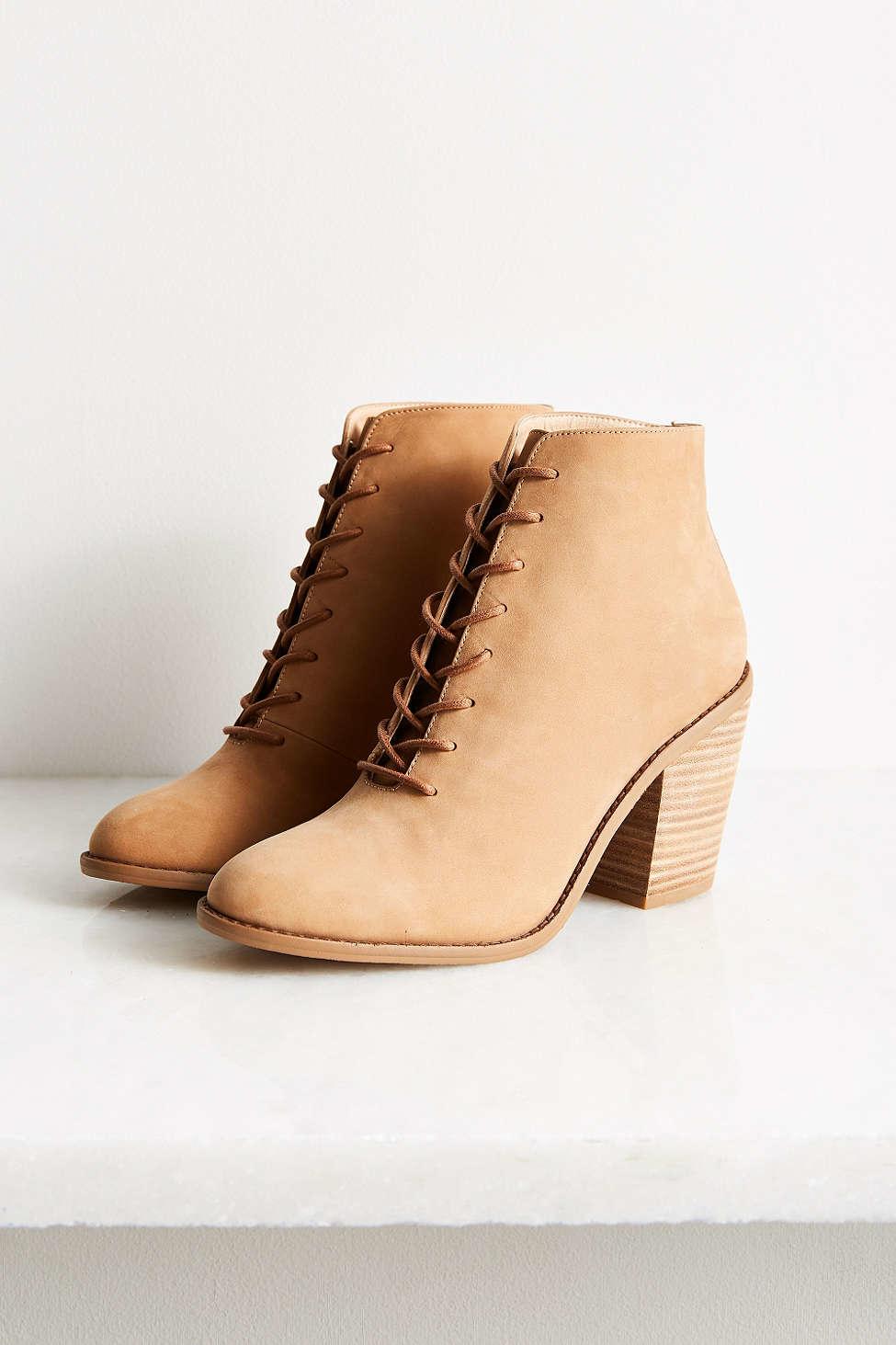 kelsi dagger jenson heeled desert boot in brown