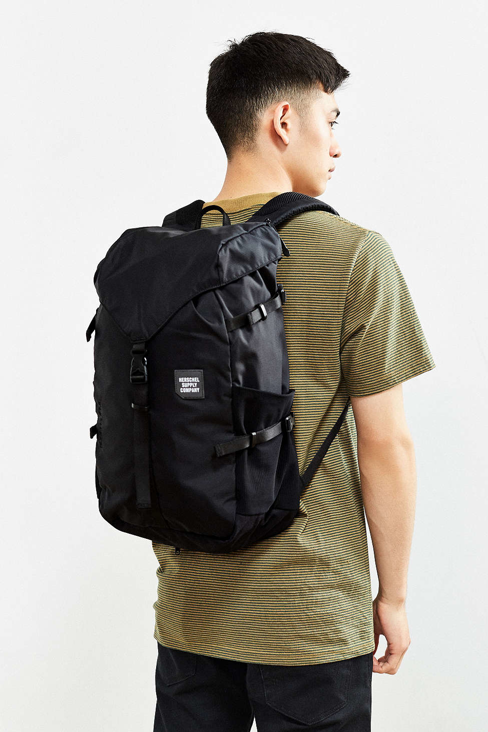 Lyst - Herschel Supply Co. Trail Barlow Backpack in Black for Men dfac788540e85