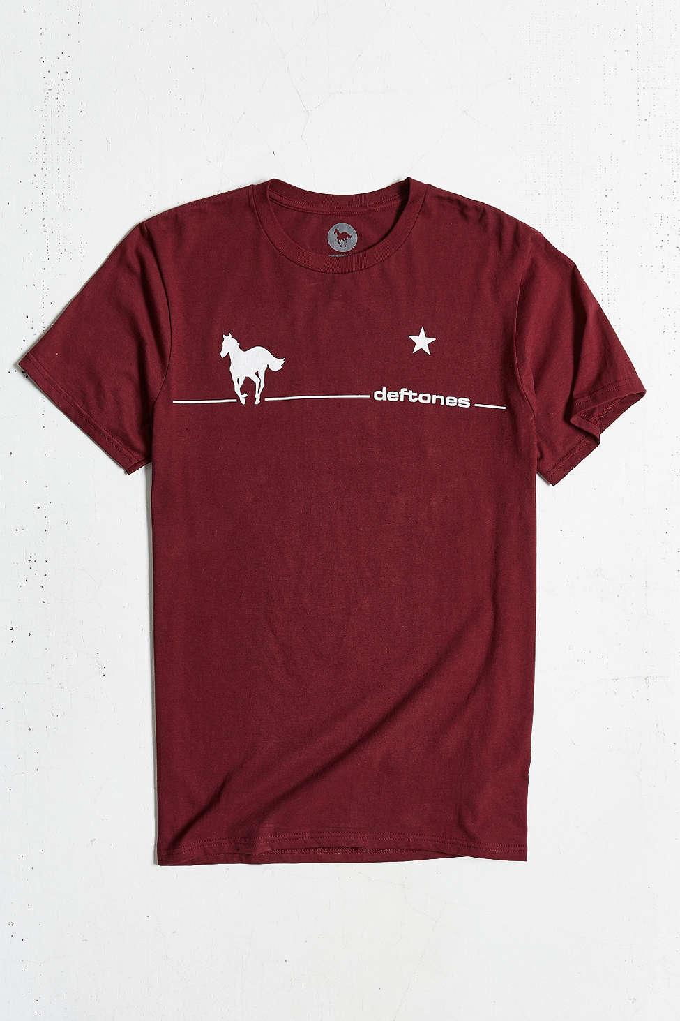 T shirt deftones white pony - Gallery