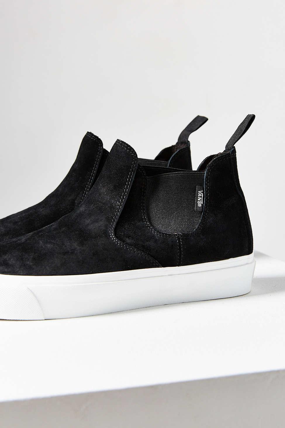 Lyst - Vans Scotchgard Slip-on Mid Dx Sneaker in Black 1996b17f6