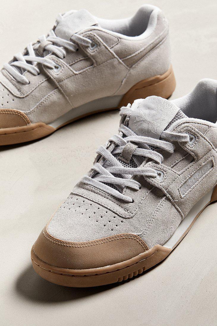 f9f80d11905 Lyst - Reebok Reebok Workout Plus Skk Sneaker in Gray for Men