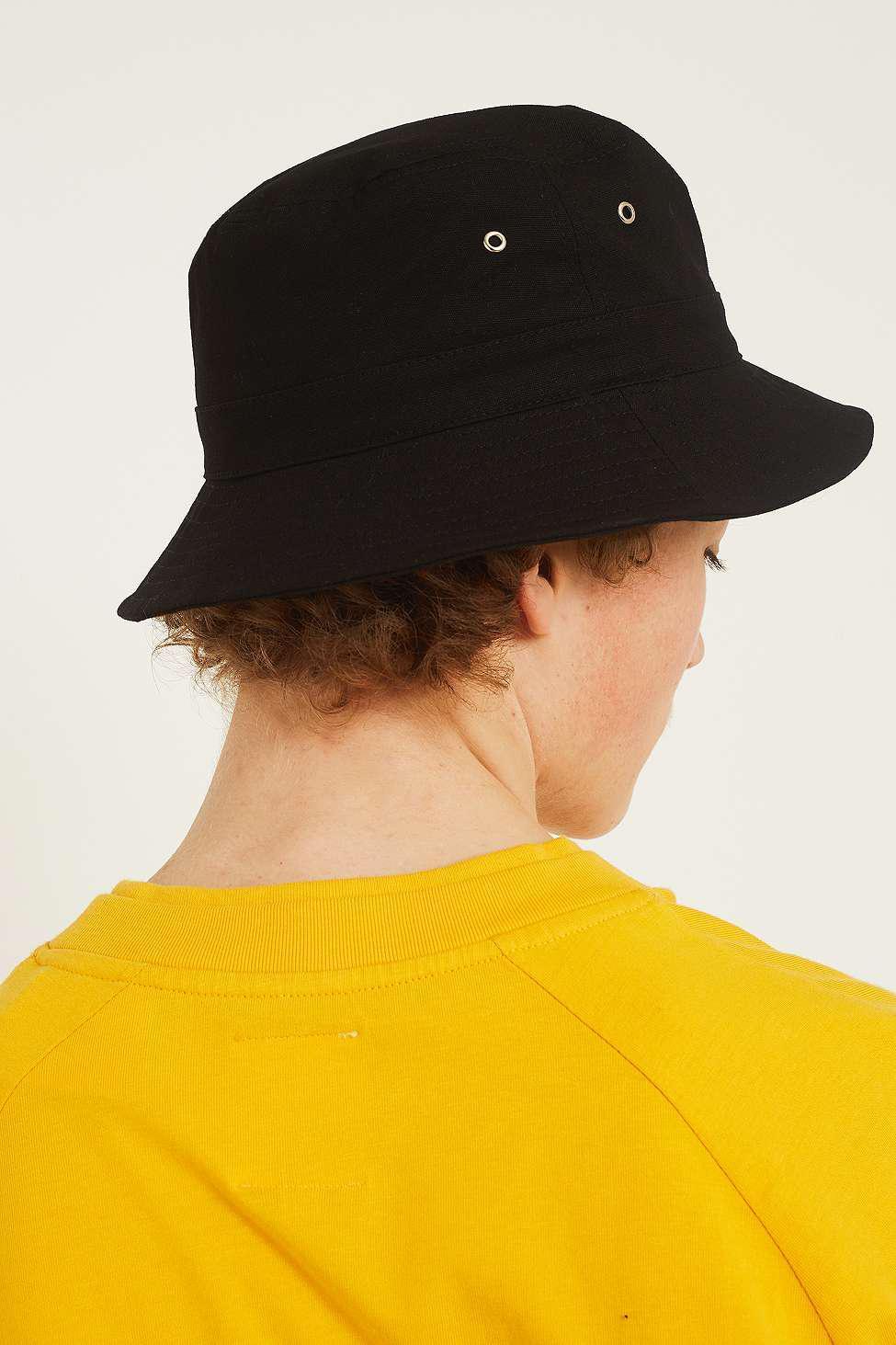 Wrangler  80s Black Bucket Hat - Mens All in Black for Men - Lyst e8ed82def9b