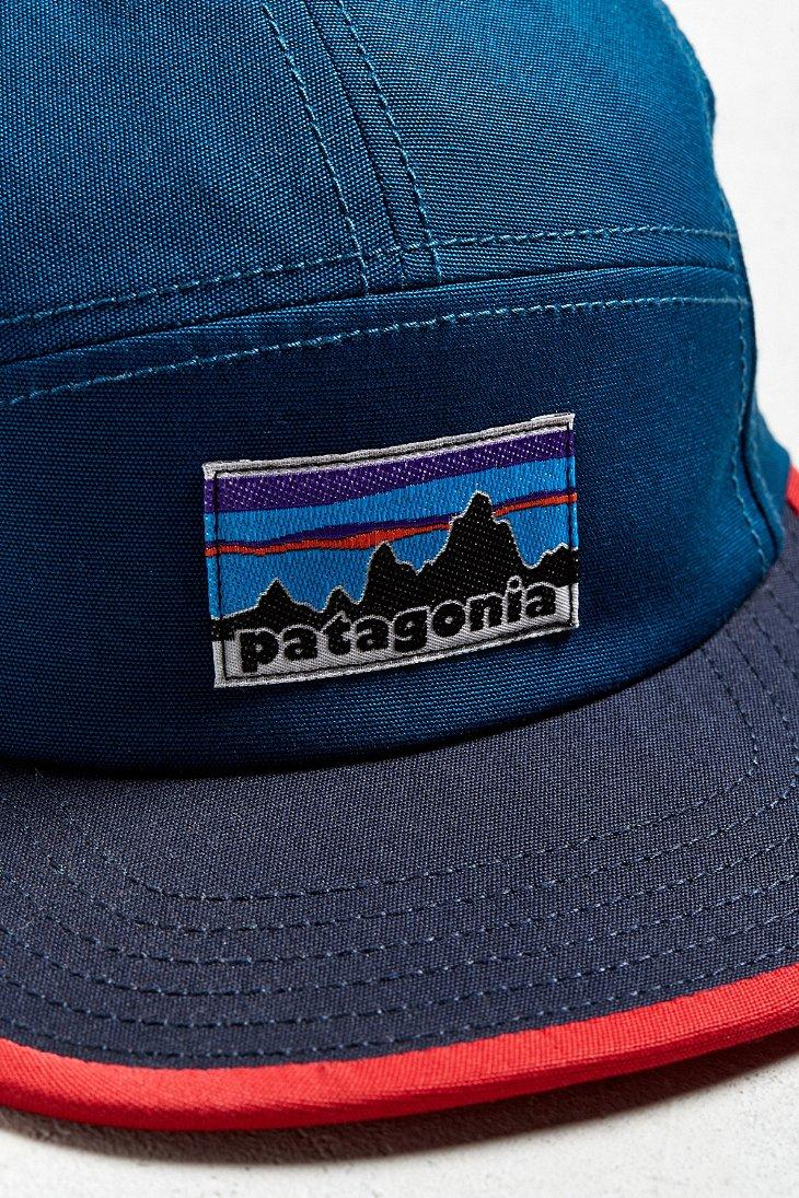 Lyst - Patagonia Fitz Roy Label 5-panel Hat in Blue for Men a6d92e5a80b