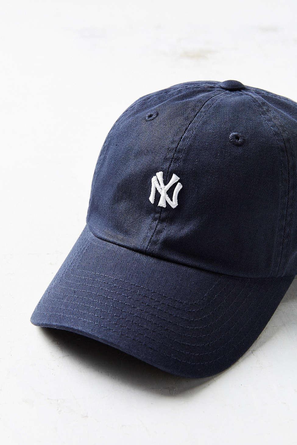 9f05cc0633d ... order lyst american needle classic micro ballpark variant baseball hat  cf065 2badd