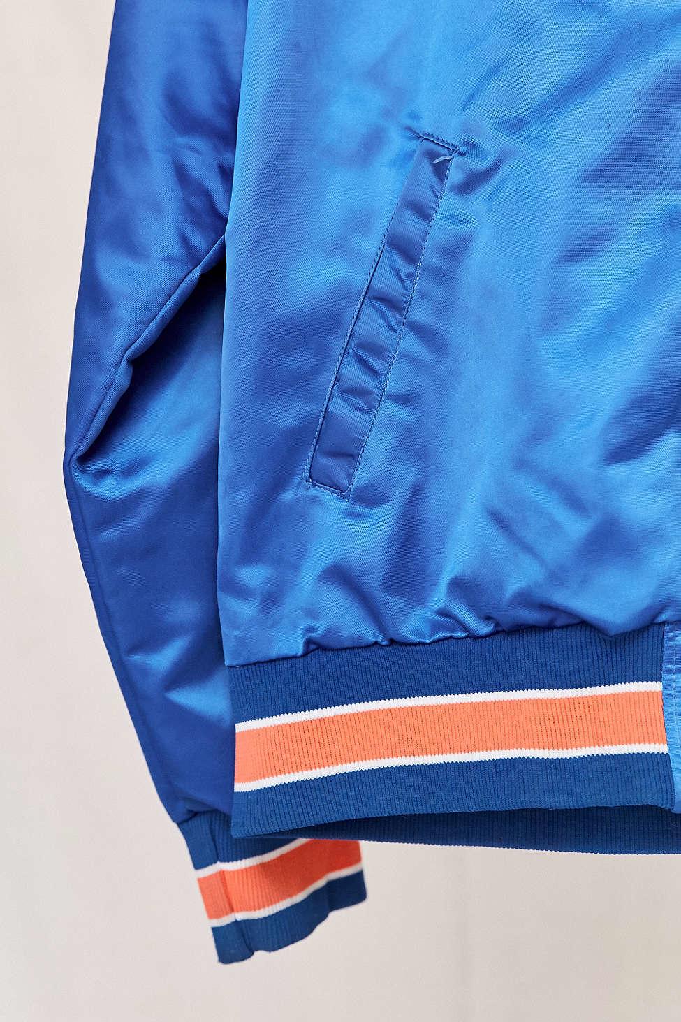 Urban Renewal Vintage New York Mets Bomber Jacket For Men