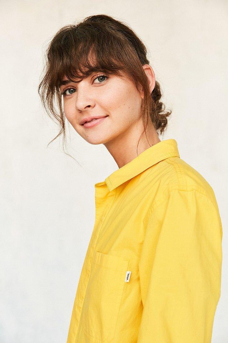 660acbb6887 Lyst - Vans   Uo Workwear Jumpsuit in Yellow