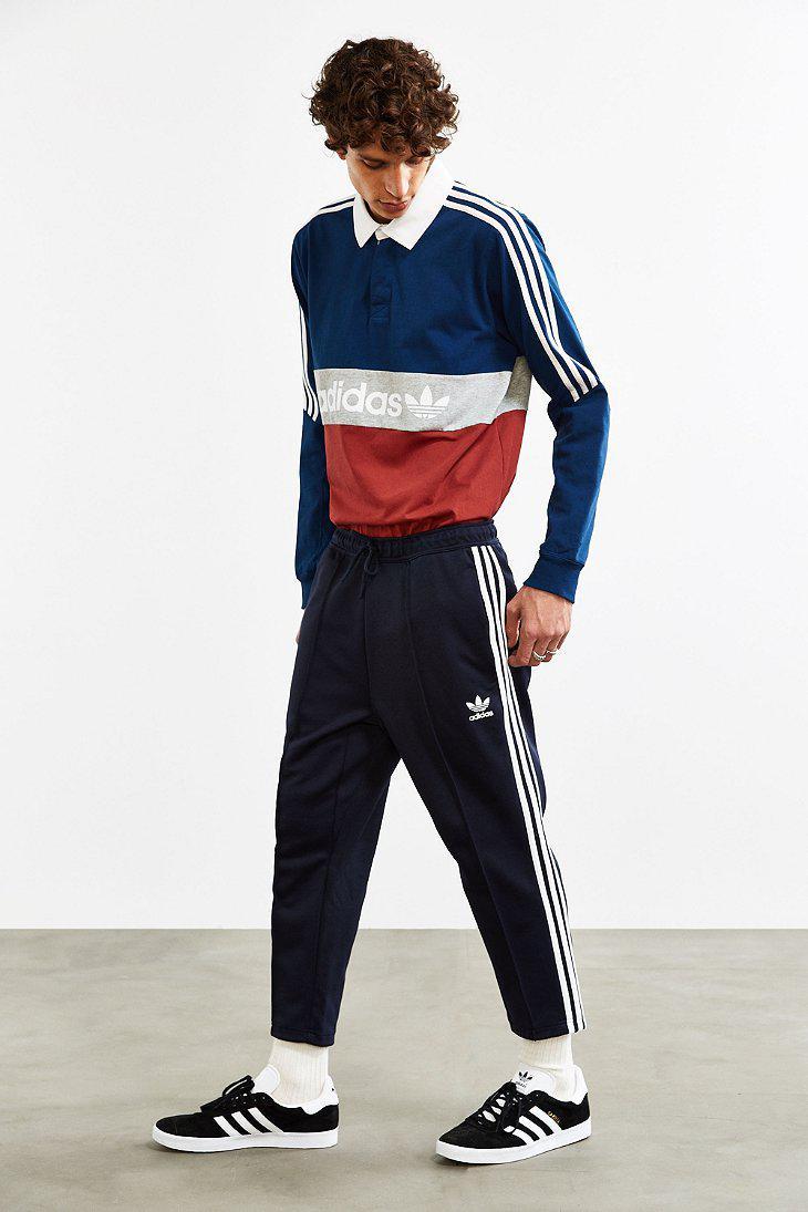 Lyst adidas superstar rilassato tagliata in traccia le originali blu