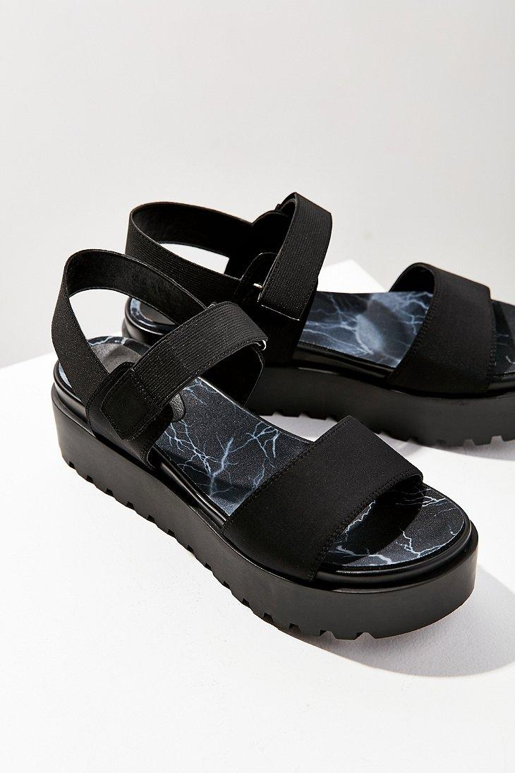 8ac63c5b38f Lyst urban outfitters scuba platform sandal in black jpg 730x1095 Urban  outfitters platform sandals