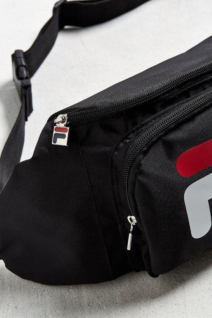 8976add81e Fila Fila Logo Sling Bag in Black for Men - Lyst