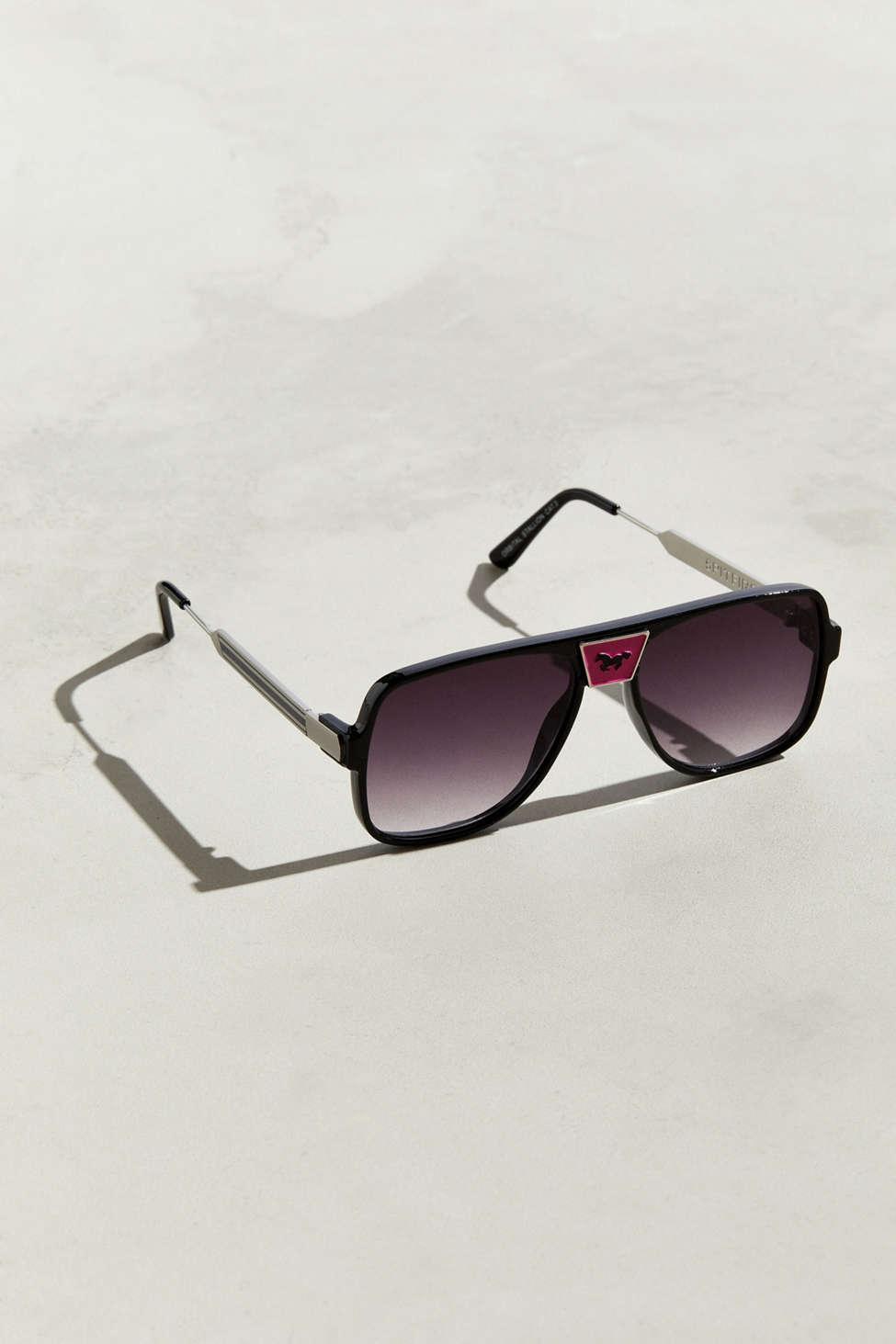 b9517185073 Lyst - Spitfire Orbital Stallion Sunglasses in Pink for Men