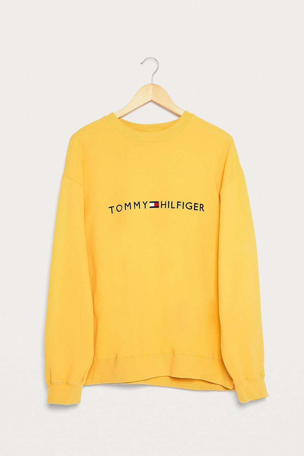 da4b4b38 Urban Renewal Vintage One-of-a-kind Tommy Hilfiger Logo Sweatshirt ...