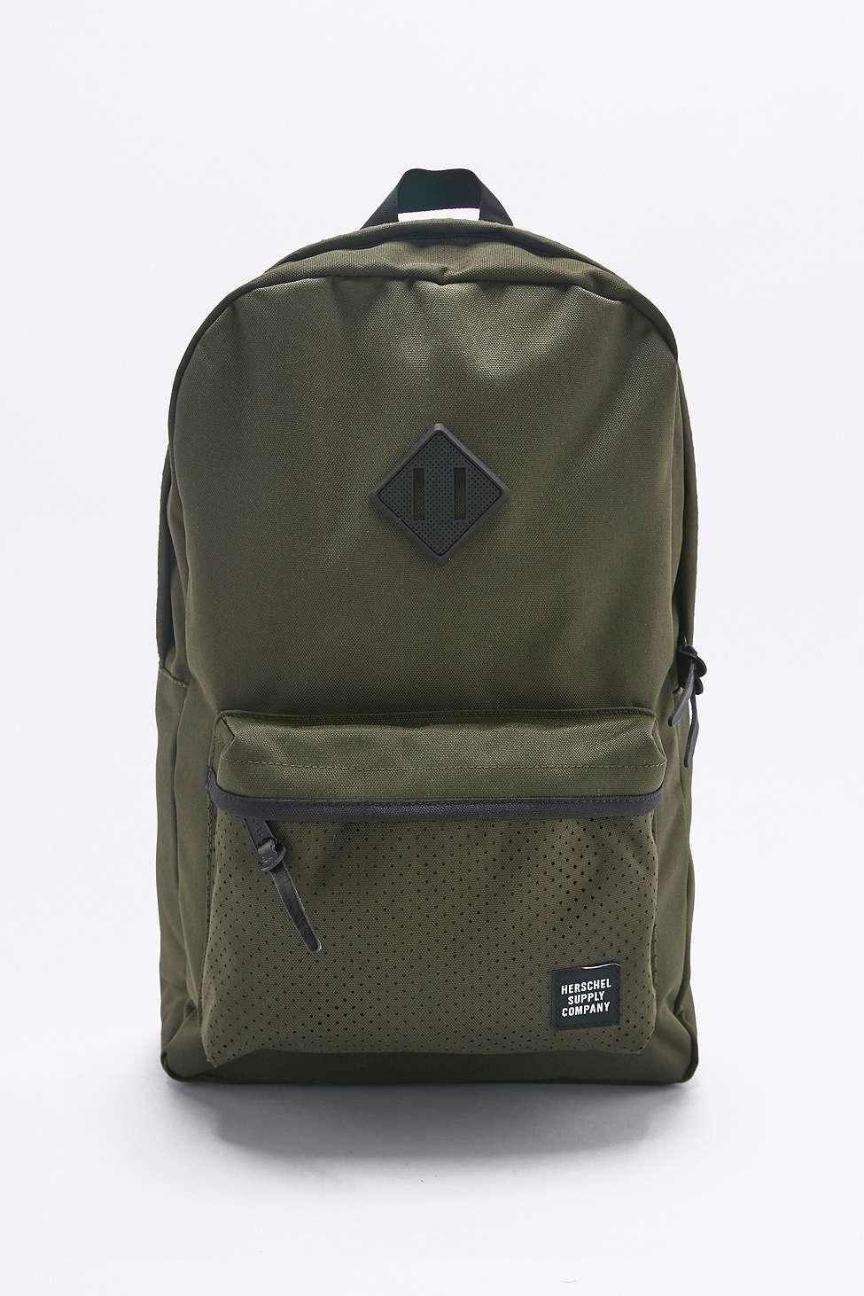 d148b7289f7 Herschel Supply Co. Aspect Heritage Khaki Canvas Backpack for Men - Lyst