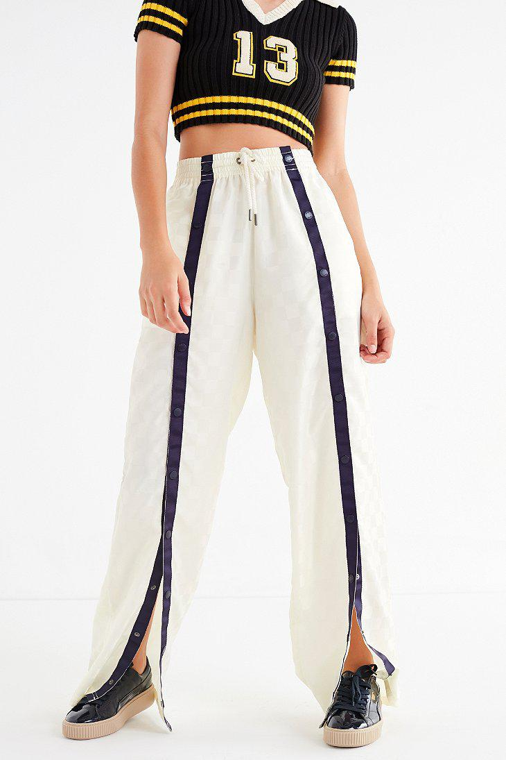 2882d91e PUMA Puma Fenty By Rihanna Tear-away Track Pant in White - Lyst