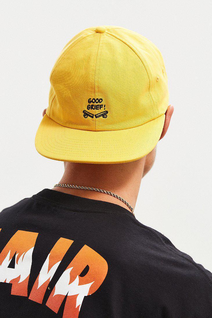 e4f2a658684 Vans Vans X Peanuts Jockey Hat in Yellow for Men - Lyst